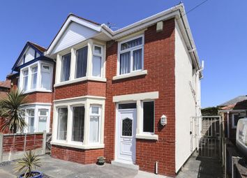 Thumbnail 3 bed semi-detached house for sale in Lindale Gardens, Blackpool