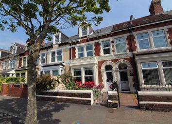 Thumbnail 5 bed terraced house for sale in Clive Street, Cardiff