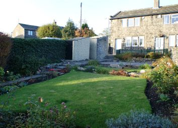 Thumbnail 2 bed semi-detached house for sale in High Fold, Wheathead Lane, Keighley, West Yorkshire