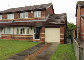 Thumbnail 3 bed semi-detached house for sale in Priory Gardens, Willington, Crook