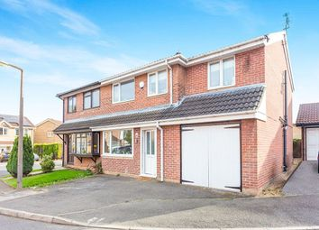 Thumbnail 4 bedroom semi-detached house for sale in Whyston Court, Hucknall, Nottingham