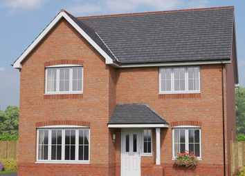 Thumbnail 4 bed detached house for sale in The Brecon, Cymau Lane, Abermorddu, Flintshire