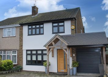 Thumbnail 3 bed property for sale in Poppy Close, Pilgrims Hatch, Brentwood