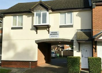 Thumbnail 1 bed flat to rent in Berneshaw Close, Corby, Northamptonshire