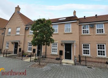 Thumbnail 2 bed terraced house to rent in Dickinson Walk, Beverley