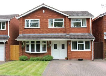 Thumbnail 4 bed detached house for sale in Gypsy Lane, Atherstone