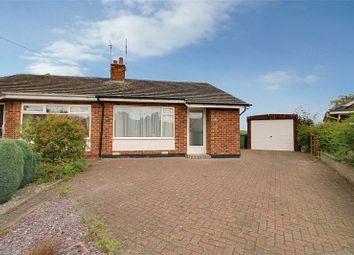Thumbnail 2 bed bungalow for sale in Fisher Close, Willerby, Hull, East Yorkshire