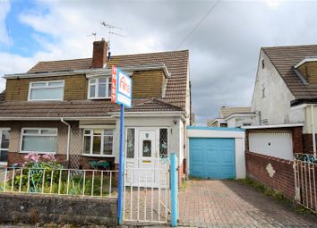 Thumbnail 3 bed semi-detached house to rent in Herbert Street, Barry
