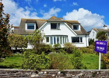 Thumbnail 5 bed detached house for sale in Bay View Road, Looe, Cornwall