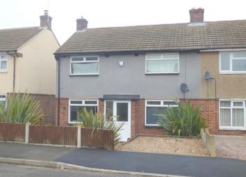 Thumbnail 3 bed semi-detached house for sale in Armstrong Road, Mansfield