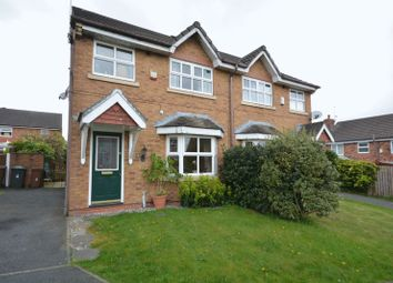 Thumbnail 3 bed semi-detached house for sale in Cravens Hollow, Oakdale, Blackburn