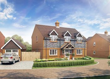 Thumbnail 4 bed detached house for sale in The Starling, Lovedean Lane, Lovedean, Hampshire