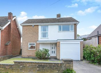 Thumbnail 3 bed detached house for sale in Hunloke Avenue, Chesterfield, Derbyshire