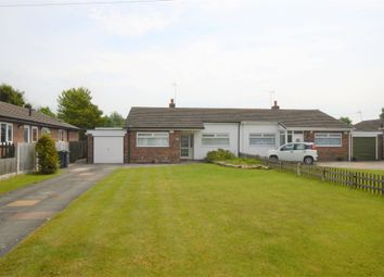 Thumbnail 3 bed semi-detached bungalow for sale in Newcroft, Saughall, Chester