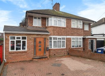 Thumbnail 4 bed semi-detached house for sale in Bullescroft Road, Edgware, Middlesex