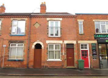 Thumbnail 2 bed terraced house for sale in Queens Road, Loughborough