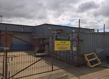 Thumbnail Light industrial to let in Unit 15 Riverside Industrial Estate, Thames Road, Barking, Essex