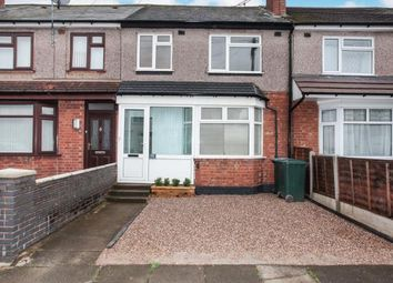 3 bed terraced house for sale in Nunts Park Avenue, Holbrooks, Coventry, West Midlands CV6
