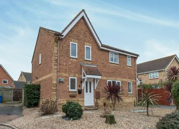 Thumbnail 2 bed semi-detached house for sale in Walsby Drive, Kemsley, Sittingbourne