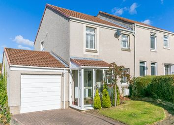 Thumbnail 3 bed semi-detached house for sale in Kippielaw Walk, Easthouses, Dalkeith