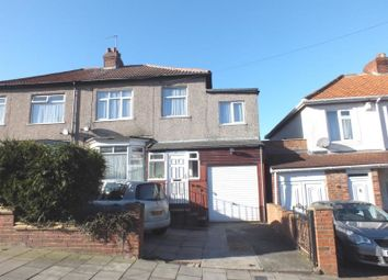 Thumbnail 5 bed semi-detached house for sale in Hoyle Avenue, Fenham, Newcastle Upon Tyne