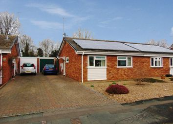 Thumbnail 2 bed semi-detached bungalow for sale in Lingfield Road, Evesham