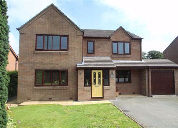 Thumbnail 4 bed detached house for sale in Treflach, Oswestry