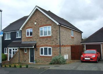 Thumbnail 3 bed semi-detached house for sale in Upper Halling, Rochester