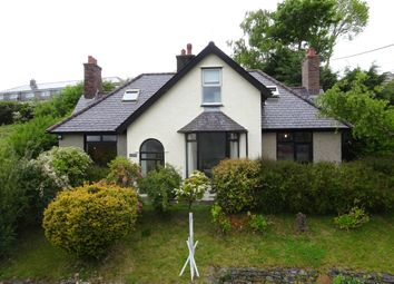 Thumbnail 4 bed detached house for sale in Fron Bant, Gerlan, Bethesda, Bangor
