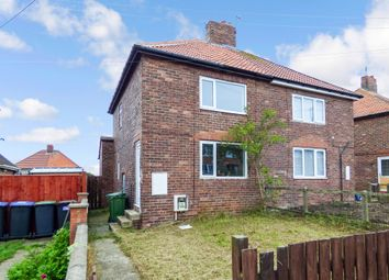 Thumbnail 2 bed semi-detached house for sale in South Crescent, Horden, Peterlee