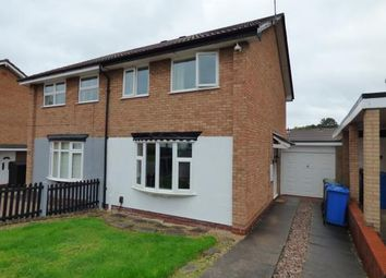 Thumbnail 3 bed semi-detached house for sale in Kestrel, Wilnecote, Tamworth, Staffordshire