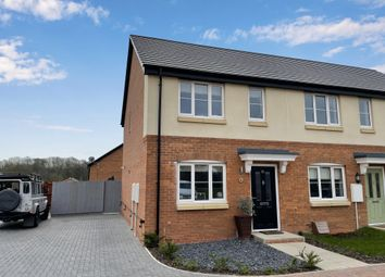 Thumbnail 2 bed town house for sale in Bottles Farm Close, Denby