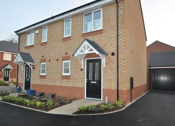 Thumbnail 2 bed semi-detached house to rent in Coomer Court, Greengages, Keele Road, Newcastle