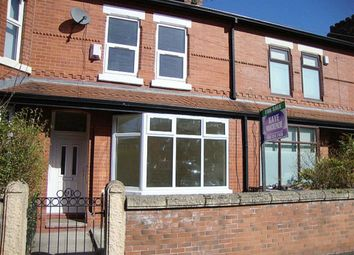 Thumbnail 3 bed terraced house for sale in Cromwell Grove, Levenshulme, Manchester