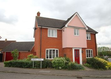 Thumbnail 4 bed detached house for sale in Dunnock Close, Stowmarket, Suffolk