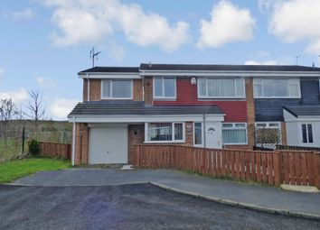 Thumbnail 5 bed semi-detached house for sale in Parkside, Sacriston, Durham