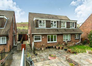 Thumbnail 3 bedroom property to rent in Graig Y Fedw, Abertridwr, Caerphilly