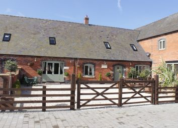 Thumbnail 3 bed barn conversion for sale in Aychley, Market Drayton, Shropshire