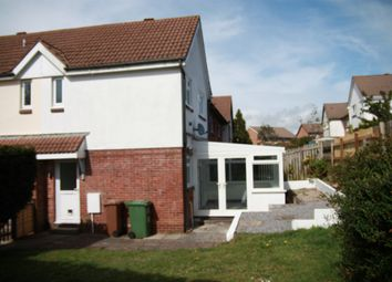 2 bed terraced house to rent in Colman Drive, Plymouth PL9