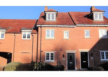 Thumbnail 3 bed town house for sale in Dairy Way, Kibworth Harcourt