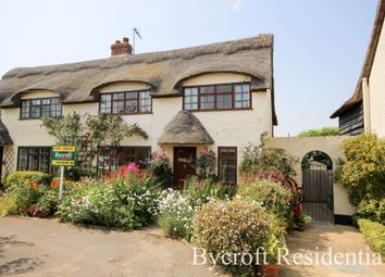Thumbnail 4 bed semi-detached house for sale in The Lane, Winterton On Sea, Great Yarmouth