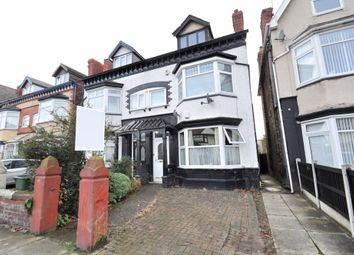 Thumbnail 3 bed flat for sale in Seaview Road, Wallasey