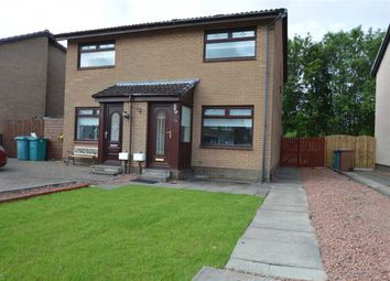 Thumbnail 2 bed semi-detached house for sale in Sherry Avenue, Holytown, Motherwell