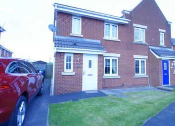 Thumbnail 3 bedroom semi-detached house to rent in Owsten Court, Horwich, Bolton