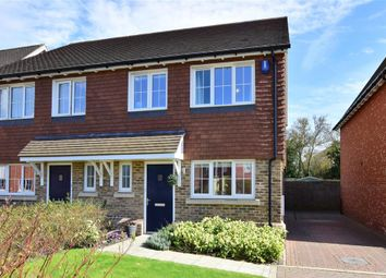 Thumbnail 3 bed semi-detached house for sale in Shrubwood Close, Harrietsham, Maidstone, Kent