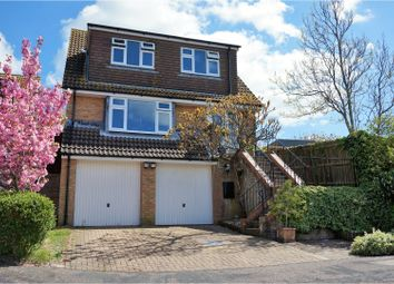 Thumbnail 4 bed detached house for sale in Willow Close, Brighton