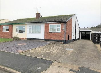 Thumbnail 2 bed semi-detached bungalow to rent in Lon Ffawydd, Abergele
