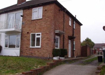 Thumbnail 2 bedroom flat to rent in Selsey Close, Stonehouse Estate, Coventry