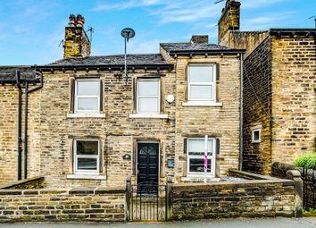 Thumbnail 2 bed end terrace house for sale in Blackmoorfoot Road, Crosland Moor, Huddersfield