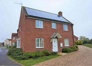 Thumbnail 4 bed detached house for sale in Dairy Way, King's Lynn